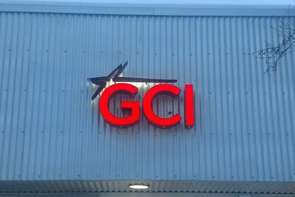 GCI Illuminated Channel Letter Sign