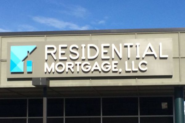Residential Mortgage Channel Letter Sign