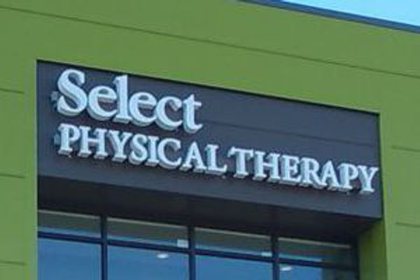 Select Physical Therapy Channel Letter Sign