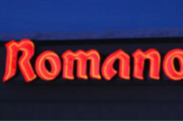 Romano's Channel Letter Sign