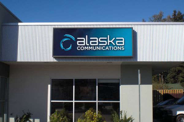Alaska Communications Sign Face