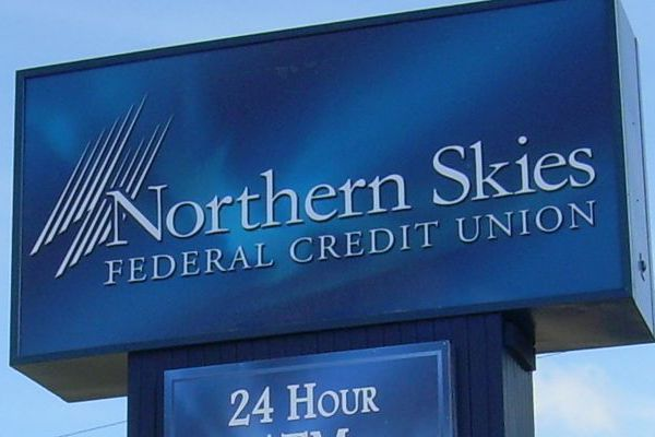 Northern Skies Sign Face